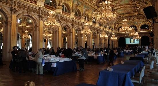 Au Maghreb des livres, Hotel de ville de Paris, grande salle de librairie